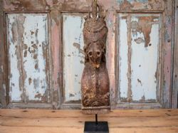 Finely Carved Horse Head from a Haveli Doorway, Karnataka circa 1890 <b>SOLD<b>